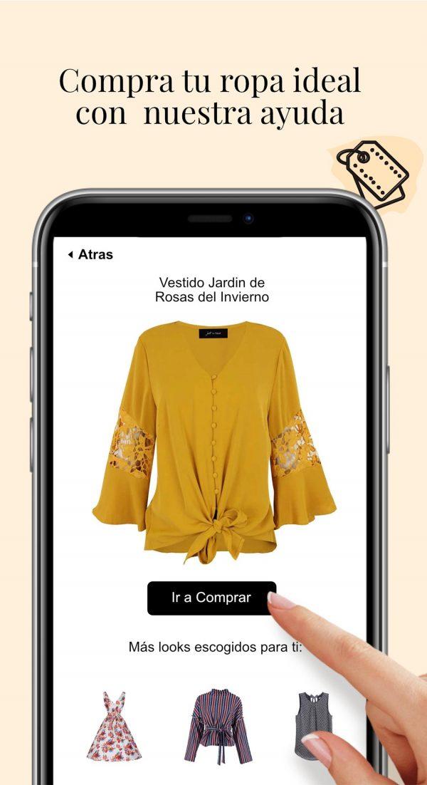 compra tu ropa ideal con nuestra ayuda