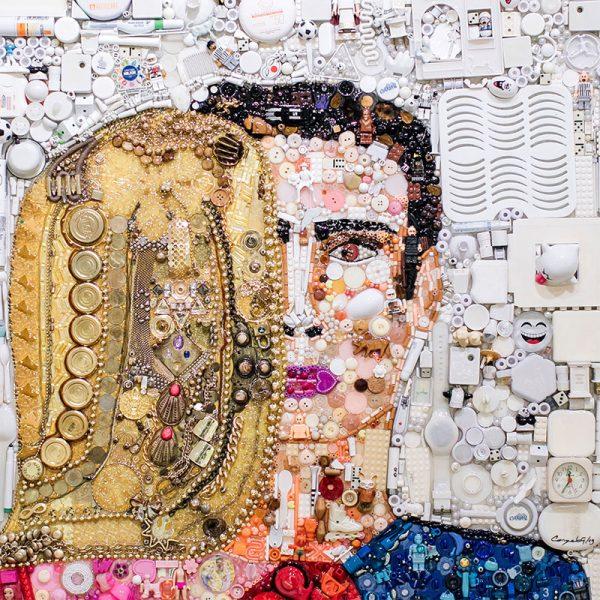 arte con material reciclado encuentros fortuitos
