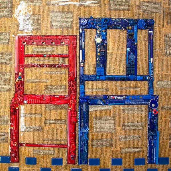 arte con material reciclado la espera